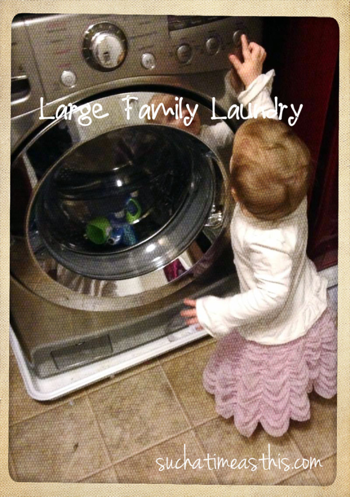 Large Family Laundry Routine