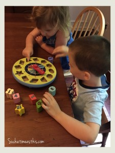 homeschooling preschoolers busy box
