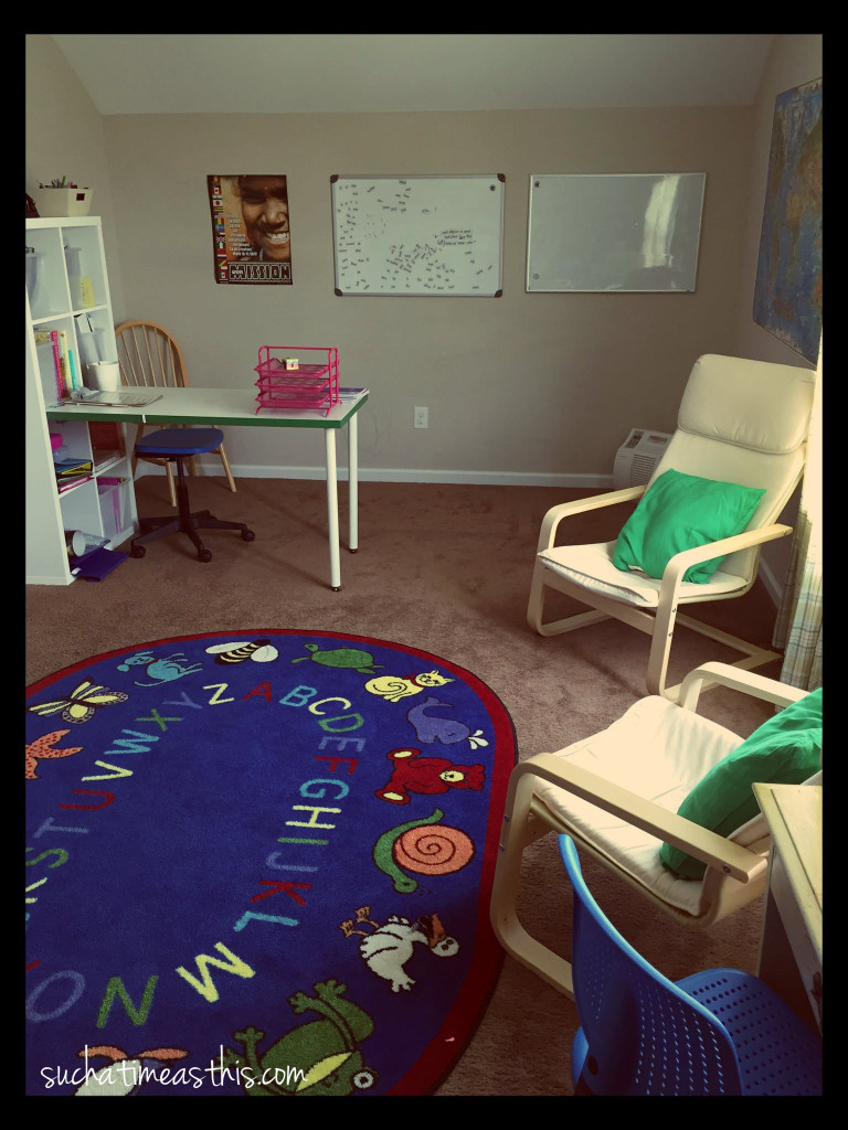 Our Homeschool Room Ikea Inspired Home