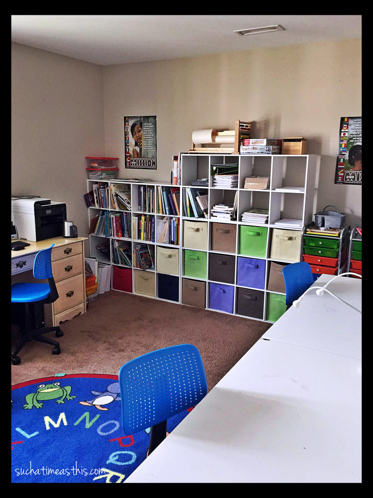 homeschool room Ikea
