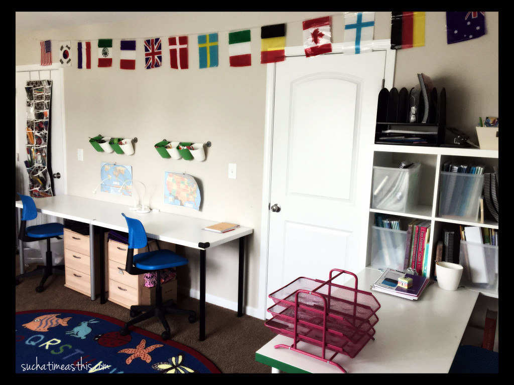 Our Homeschool Room Ikea Inspired Home