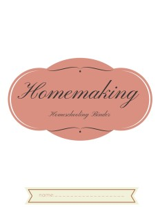 Homemaking (3)