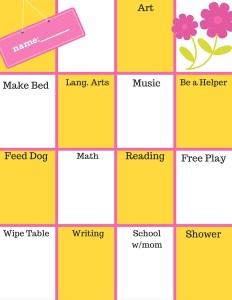 homemaking homeschooling binder
