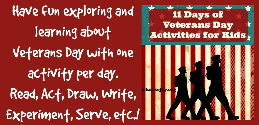 11 Days of Veterans Day Activities {Link Up}