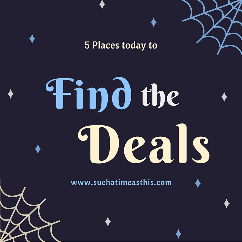 5 places today to find the deals