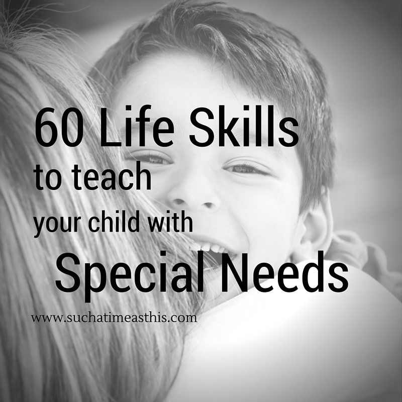 life skills to teach your child