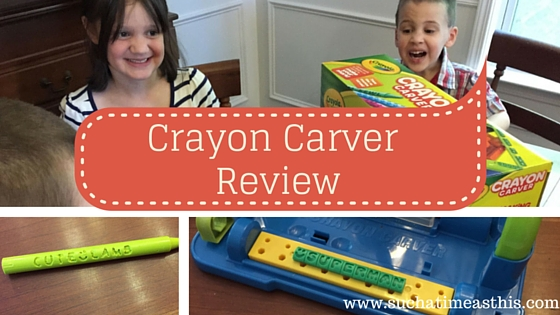 Crayola Crayon Carver {Review}