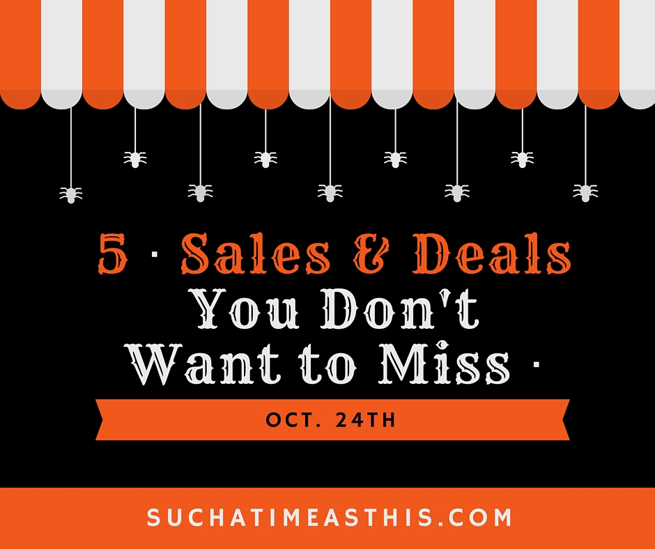 5 Sales You Don't Want to Miss