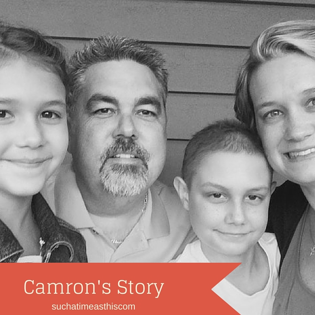 Camron's Story {Trials & Testimonies}