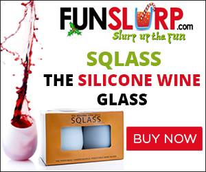 Sqlass Silicone Wine Glass {Giveaway}