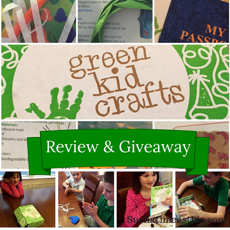 Green Kid Crafts {Review + Giveaway}