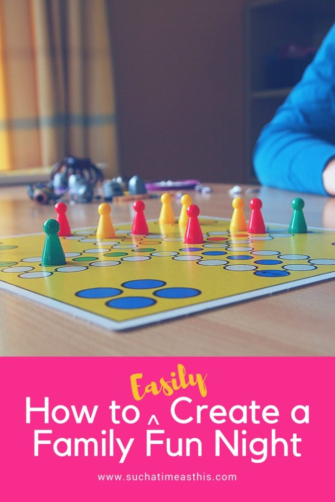 how to create a family fun night