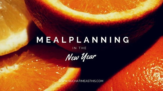 Meal Planning in the New Year