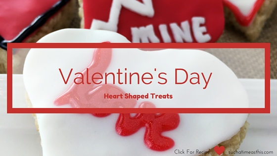Valentine's Day Heart Shaped Treats