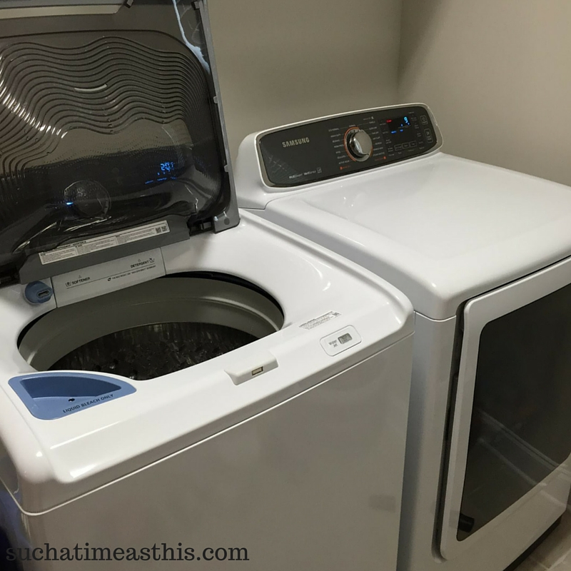 choosing a large family washer