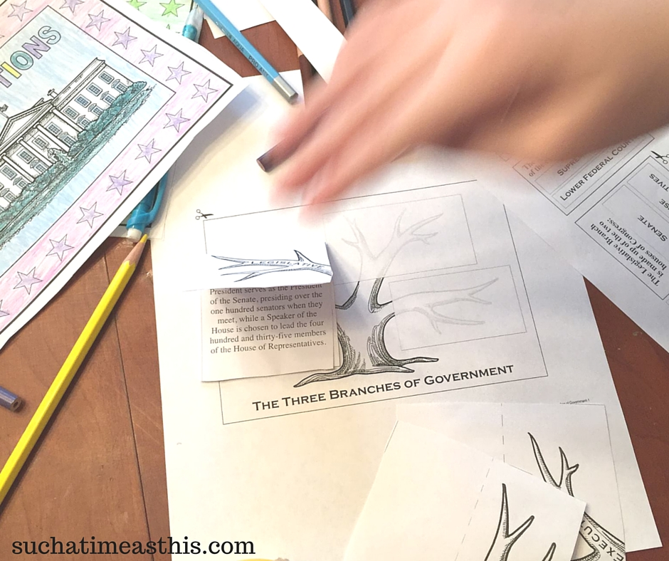 Create an Election Lapbook