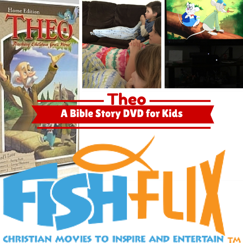 Theo God's Love DVD FishFlix.com {Review}