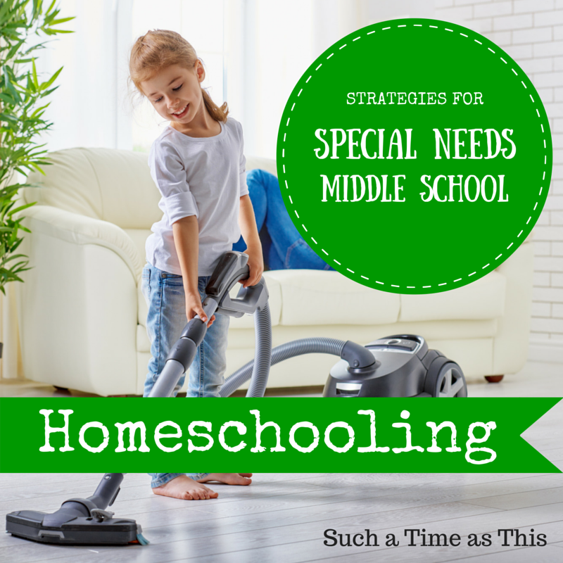 Strategies for Special Needs Homeschooling (Middle School)