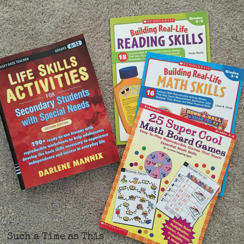 homeschooling special needs middle school