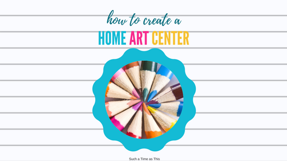 How to Create a Home Art Center in 4 Easy Steps