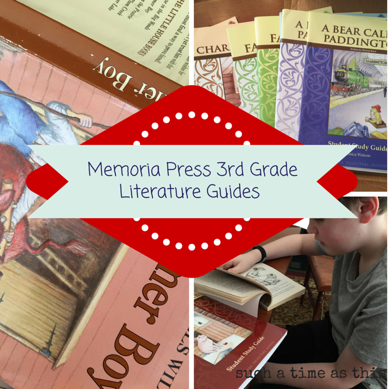 Third Grade Memoria Press Literature Guides {Review}
