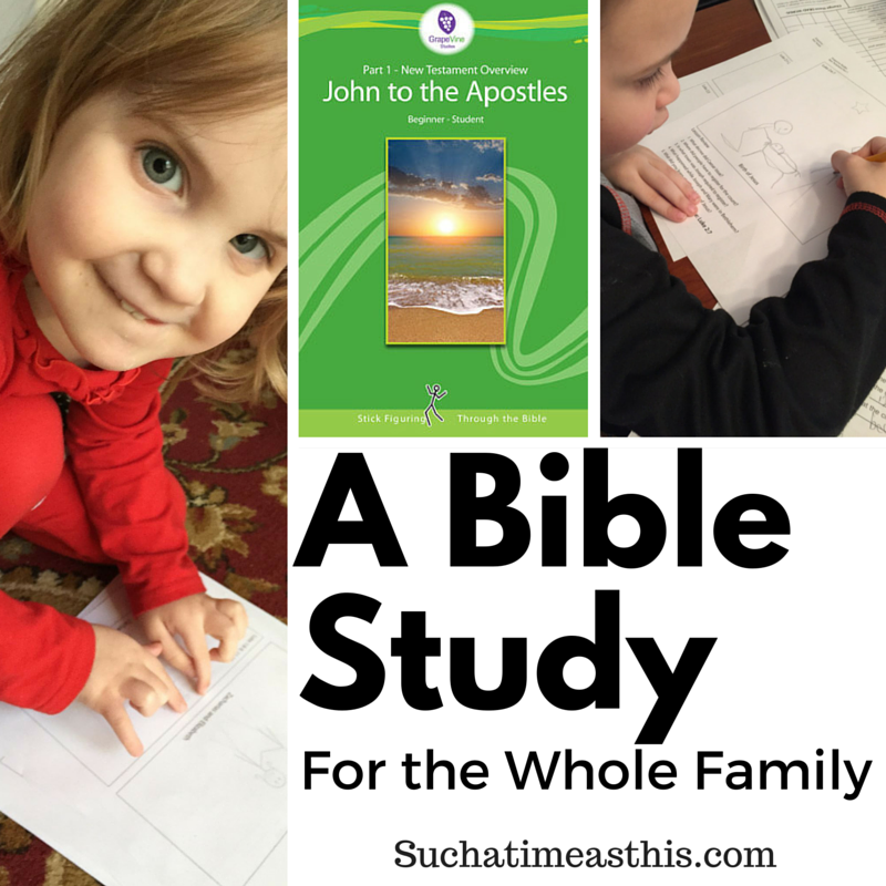 A Bible Study for the Whole Family {Review}