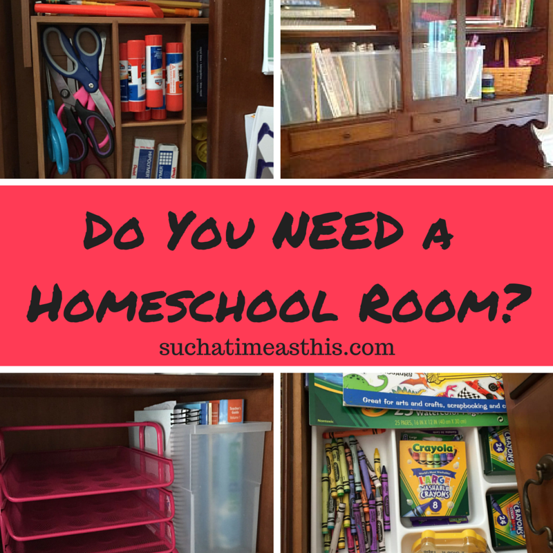 Do you Need a Homeschool Room? {Tips for Organizing Your Homeschool}
