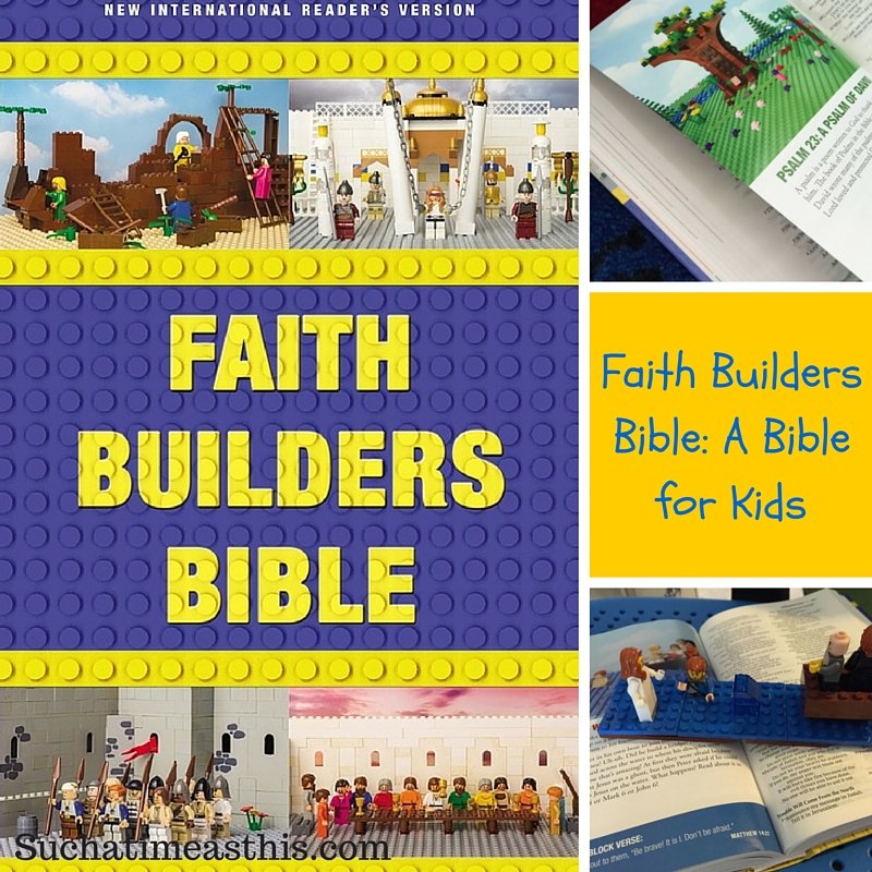 Faith Builders Bible {Review}