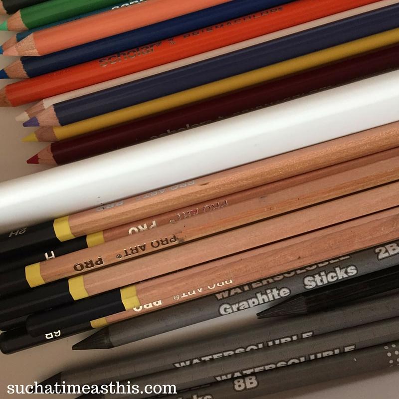 create an art center homeschool, homeschool art