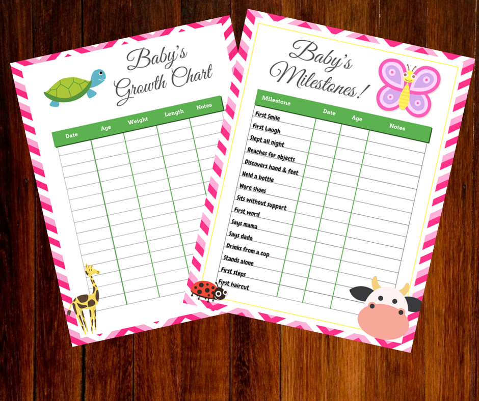 baby growth and milestones chart printable such a time as this