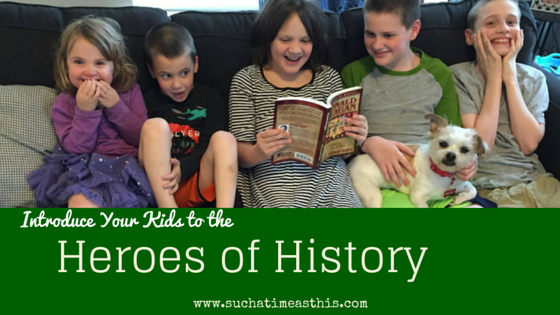 Historical Biographies for the Family {Heroes of History Review}