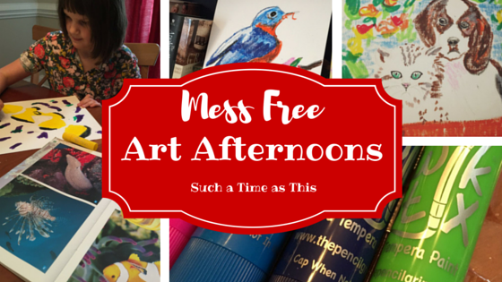 Mess Free Art Afternoons {Kwik Stix Review}