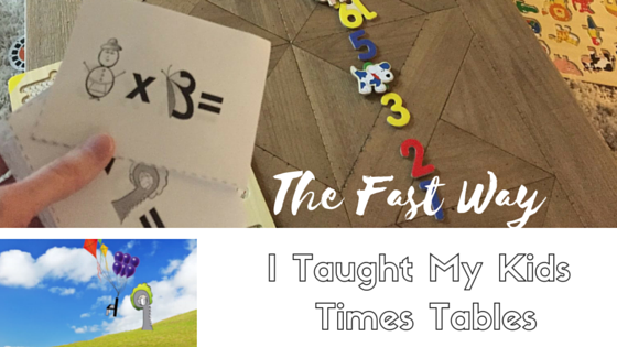 The Fast Way I Taught My Kids the Times Tables {Review}