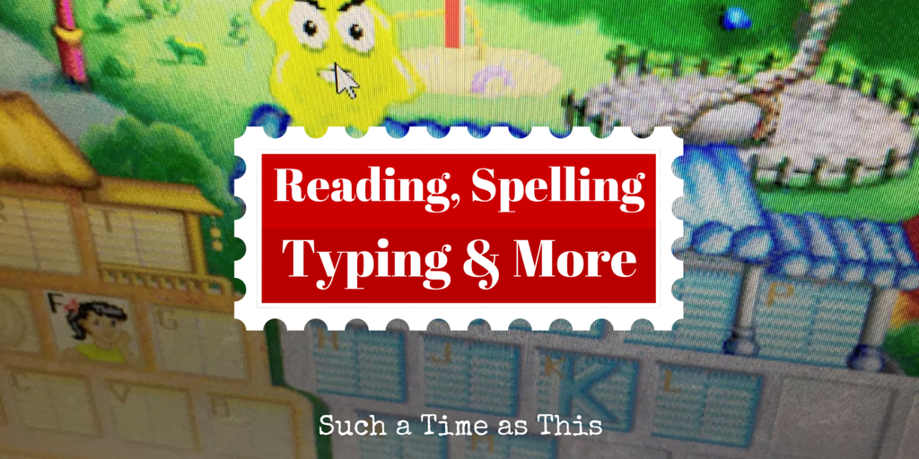 Reading, Spelling, Typing and More! {Talking Fingers Inc. Review}