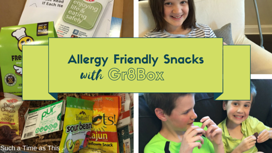 Allergy Friendly Snacks {Gr8Box Review}