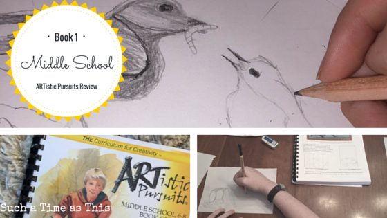 ARTistic Pursuits Middle School Book One {REVIEW}