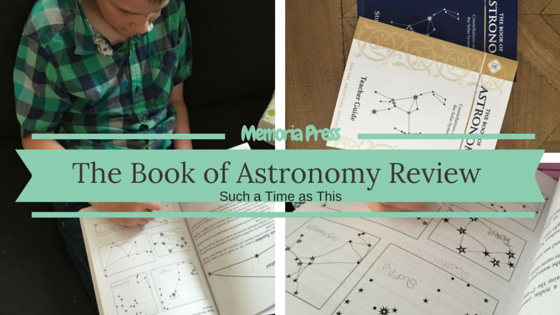 Memoria Press Astronomy {Review}