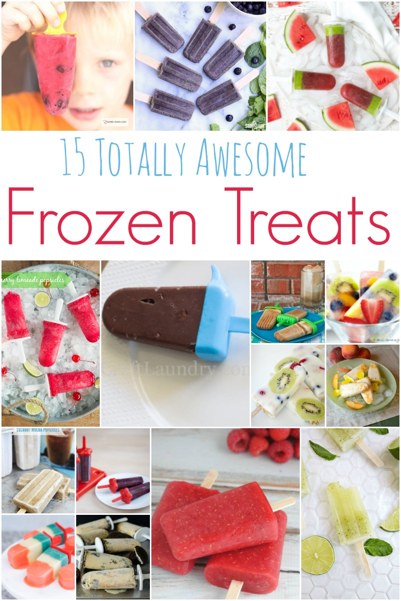 15 Totally Awesome Frozen Treats & Popsicles