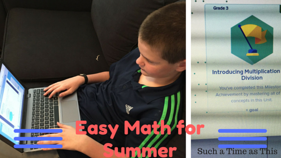 Easy Math for This Summer {LearnBop Review}