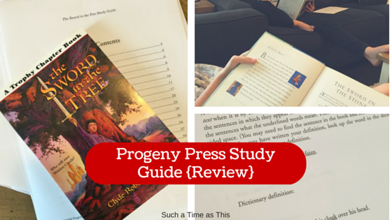 The Sword in the Tree Study E-Guide {Review}
