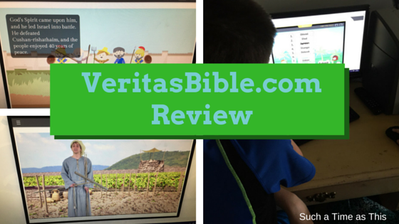 Looking for a Great Bible Curriculum? VeritasBible.com Review