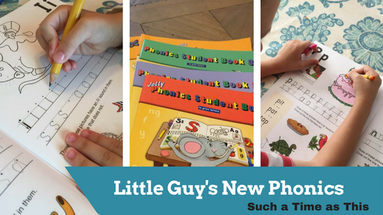Little Guy's New Phonics – Jolly Phonics Review