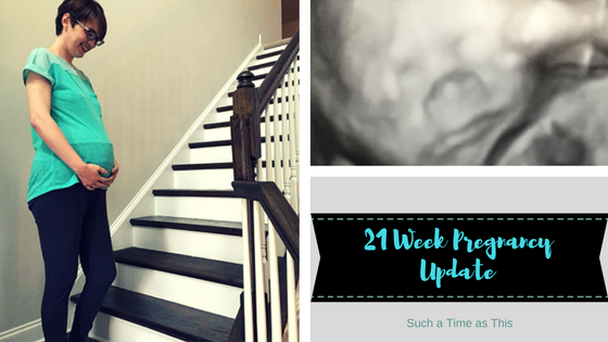 21 Weeks Pregnant Update {Baby 7}
