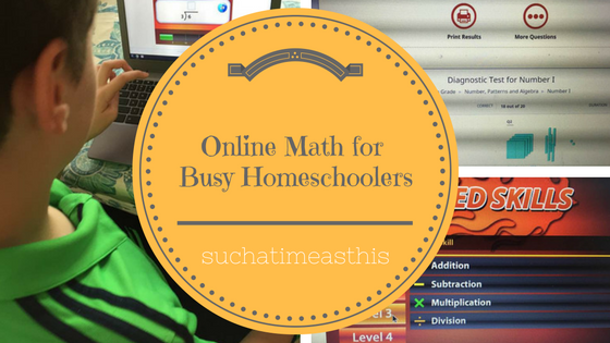 Are you looking for an online math curriculum?