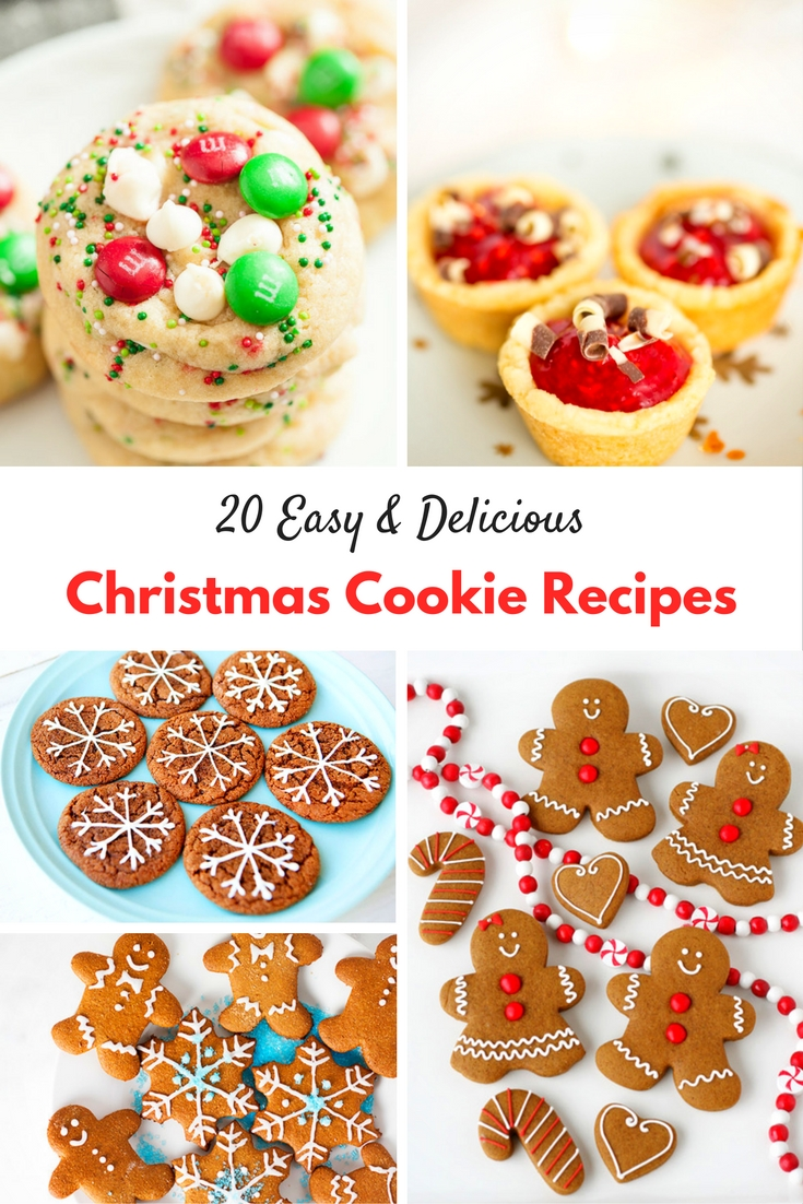 20 Easy and Delicious Christmas Cookie Recipes