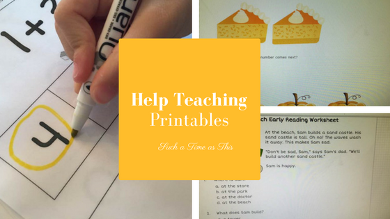 Help Teaching Pro Subscription for Kindergarten and Beyond {Review}