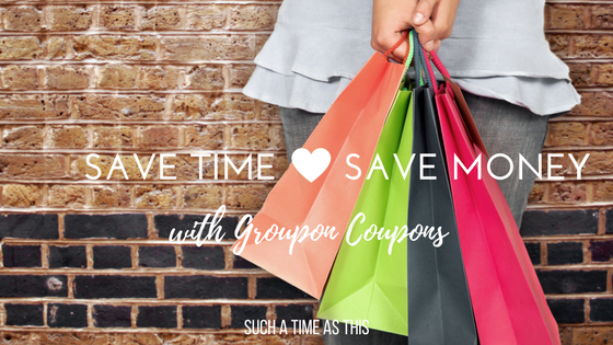 Saving Time and Money Shopping with Groupon Coupons