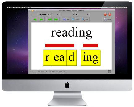 phonics reading program software