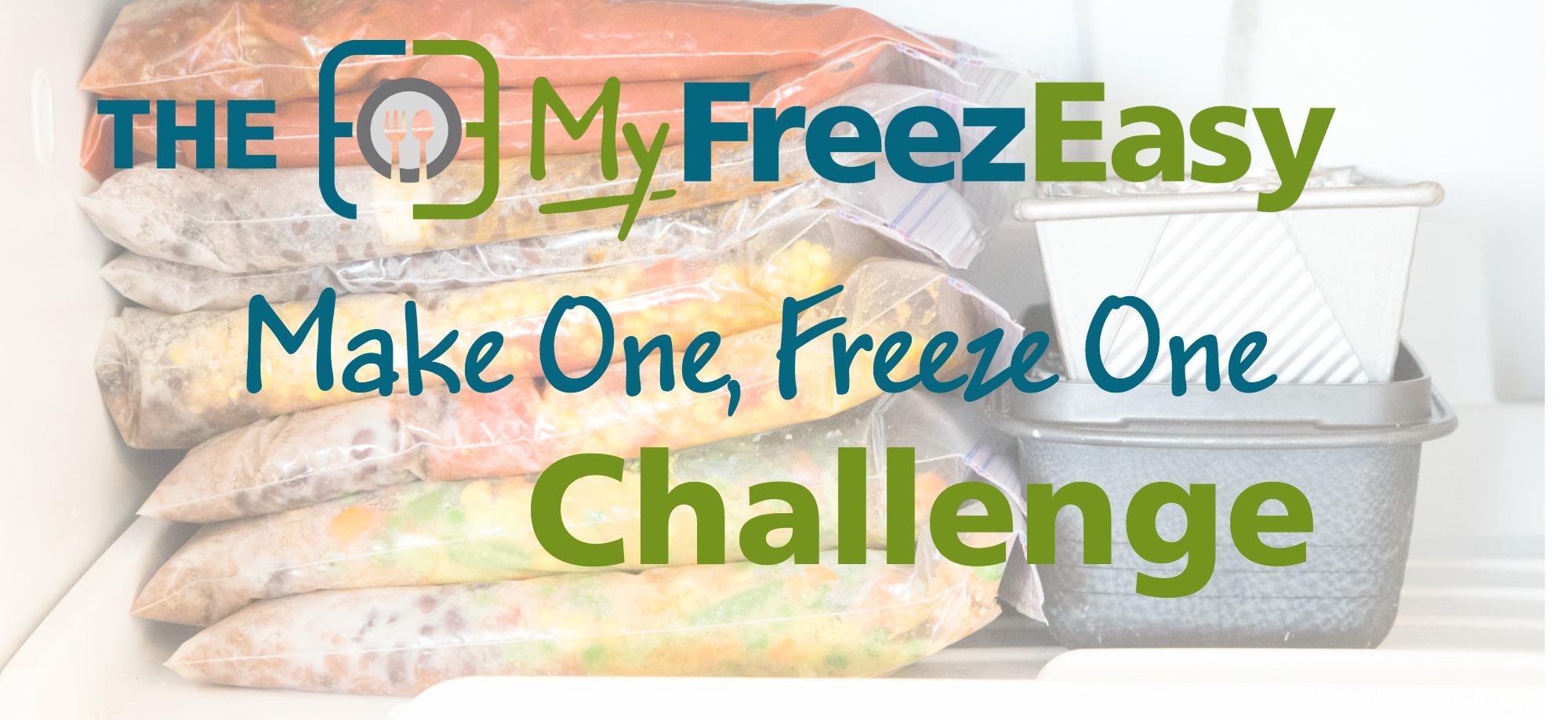 make one, freeze one challenge