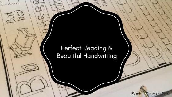 Teach our children to have Beautiful Handwriting {Review}